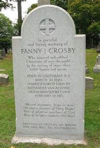 Fanny Crosby monument