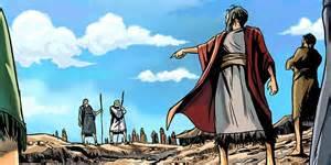 Korah led a rebellion against Moses