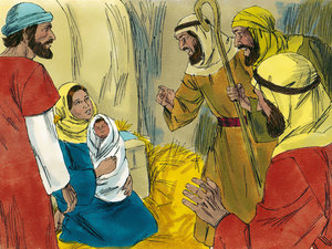 The shepherds could not contain the good news. Mary pondered all of these things in her heart.