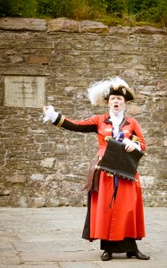 Mary had an announcement to make but it was not one she wanted the town crier to proclaim