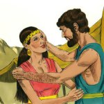 Rebekah comforted Isaac in the death of his mother and he took her into his tent as his wife