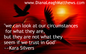 God sees the big picture when we see our present circumstances