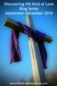 Jesus went to the cross in His love for us.