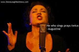 He who sings prays twice