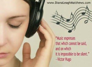 Music expresses what can't be said
