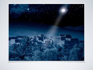 Joseph and Mary journeyed to Bethlehem, where the Savior would be born