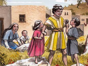 They settled in Nazareth