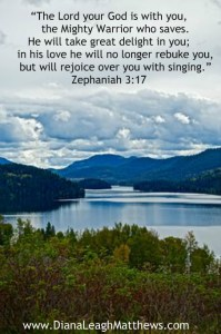 God will rejoice over you with singing