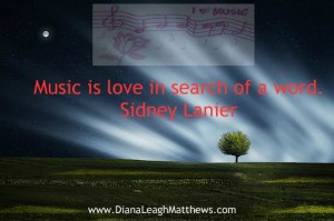 Music is love in search of a word