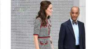 Kate Middleton NEW Looks in £1,790 Gucci Tweed Dress at The Open the New Wing at London's V&A