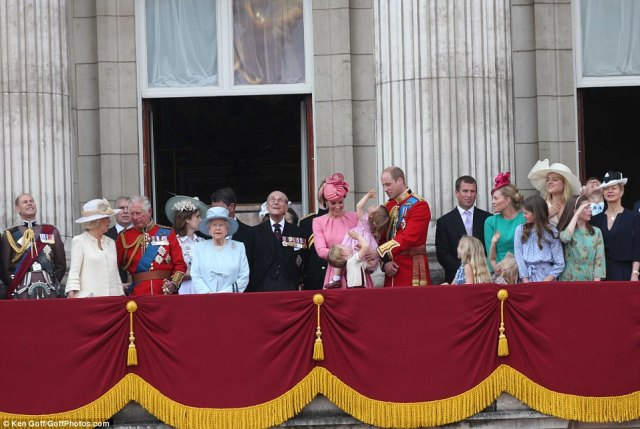 Prince Edward, Camilla Parker Bowles, Prince Andrew, Prince Charles, Princess Beatrice, Queen Elizabeth, Prince Philip, Prince Harry, the Duchess of Cambridge