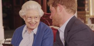 Prince Harry, pictured right with the Queen in a video clip to promote the 2016 Invictus Games, has admitted that he once 'wanted out' of the Royal Family