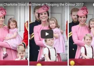 Princess Charlotte Trooping