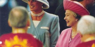 Princess Diana and Queen Elizabeth Photo (C) GETTY IMAGES