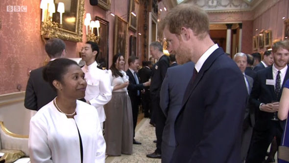 The Prince was praised for his interview technique Photo (C) BBC