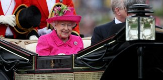 The Queen was showing no signs of fatigue after a hectic day which saw her preside over the State Opening of Parliament before dashing back for Ascot