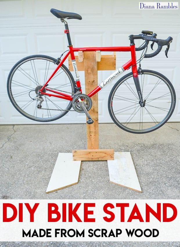 Diy Bike Maintenance Stand