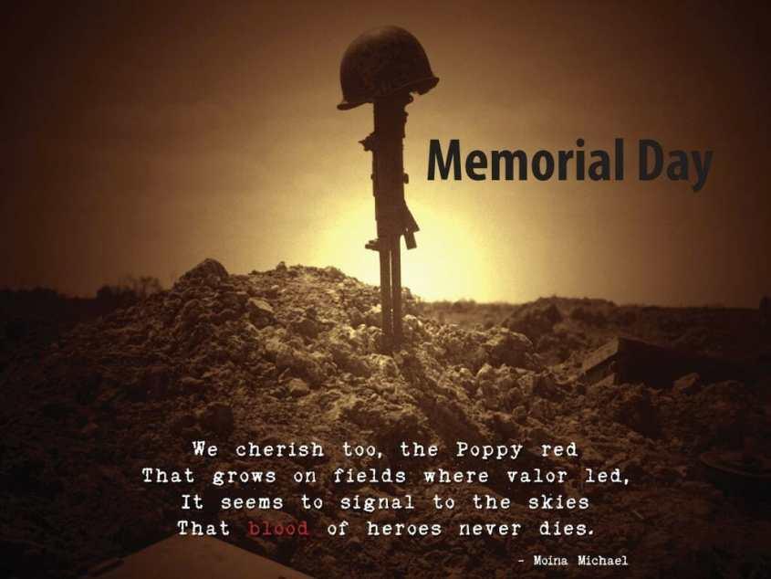 Memorail Day 9