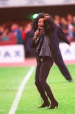 Diana Ross at the Rugby League World Cup