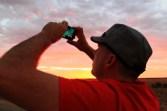 Dwayne using PhotoStream on his phone...