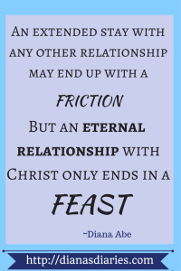 Relationship with Christ is always sweeter