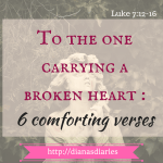 Carrying a broken heart :One word from God