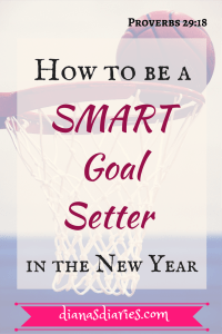 How to be a SMART Goal setter in the New Year
