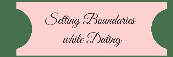 setting boundaries for christian dating