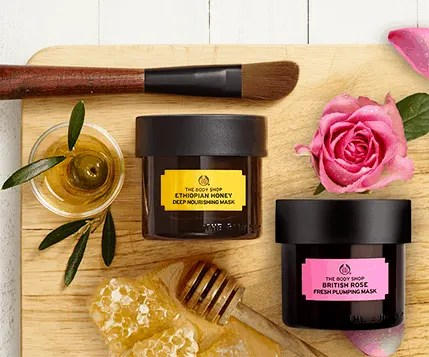 The Body Shop Face Superfood MasksReview