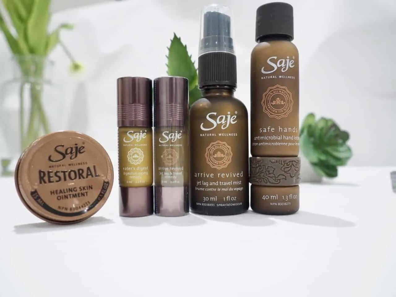 Saje Essential Oils Perfect Travel Kit