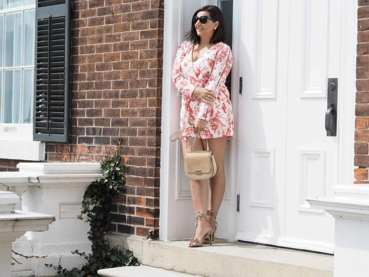 The Must Have Romper and Sandals For Spring