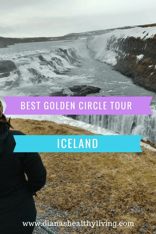 Iceland Golden Circle water falls the best view