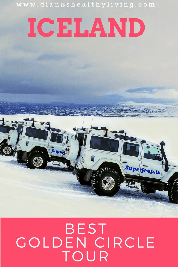 The Best Iceland Golden Circle Tour- When planning our trip to Iceland we knew traveling around the Golden Circle was a must. We heard so many stories about the driving conditions that we thought it was a great idea to book a Super Jeep Golden Circle Tour and a Northern Lights tour. |Iceland| Golden Circle Tour| Iceland Tours| Super Jeep|#iceland #GoldenCircle #adventuretravel