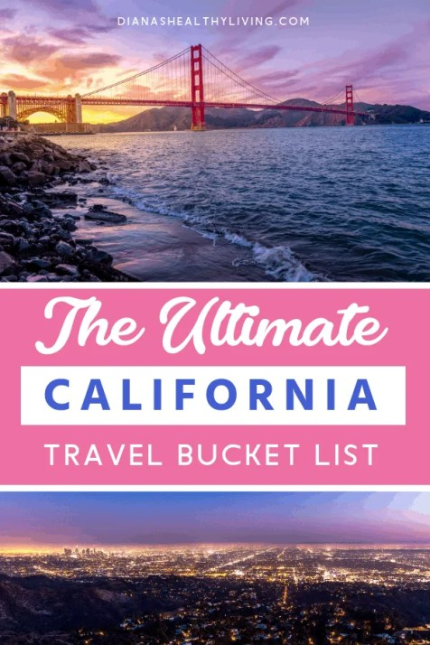California is on a lot of bucket lists? Check out the top places to visit, and things to do in California. California is great for road trips. San Diego, Yose Mite National Park, Mendocino, Los Angeles, Venice Beach #California #VisitCalifornia #CaliforniaVacation #Roadtrip