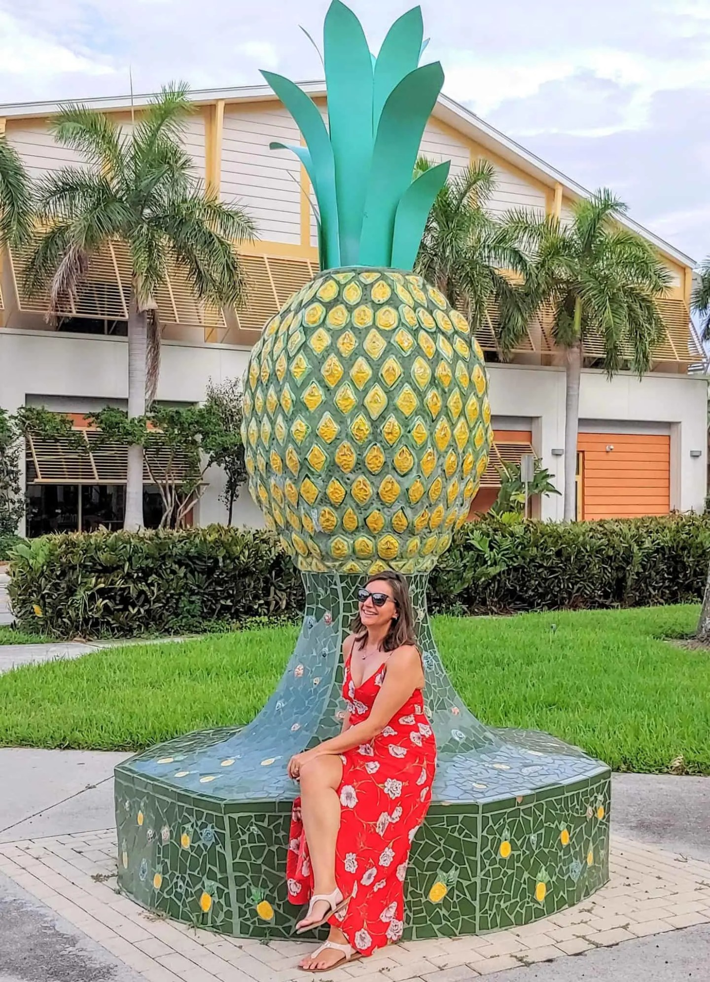 pineapple in downtown delray
