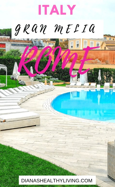 Planning a trip to Rome, Italy? The Gran Melia is not just a luxury hotel but it is an Oasis located in the heart of Rome. |Where to stay in Rome| Luxury hotel Rome| Gran Melia Rome|
