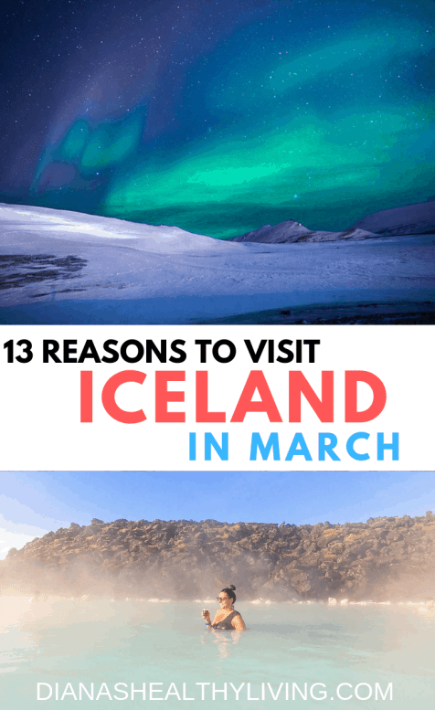13 Reasons why you should travel Iceland in the winter? See the Northern Lights, visit the Blue Lagoon, hike a glacier.