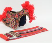 Two Parts of Chinese Sani people's Headress