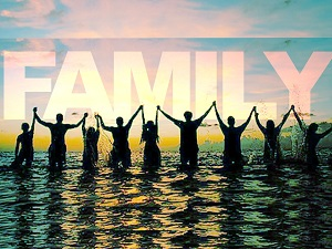 Family will be there when you need them.