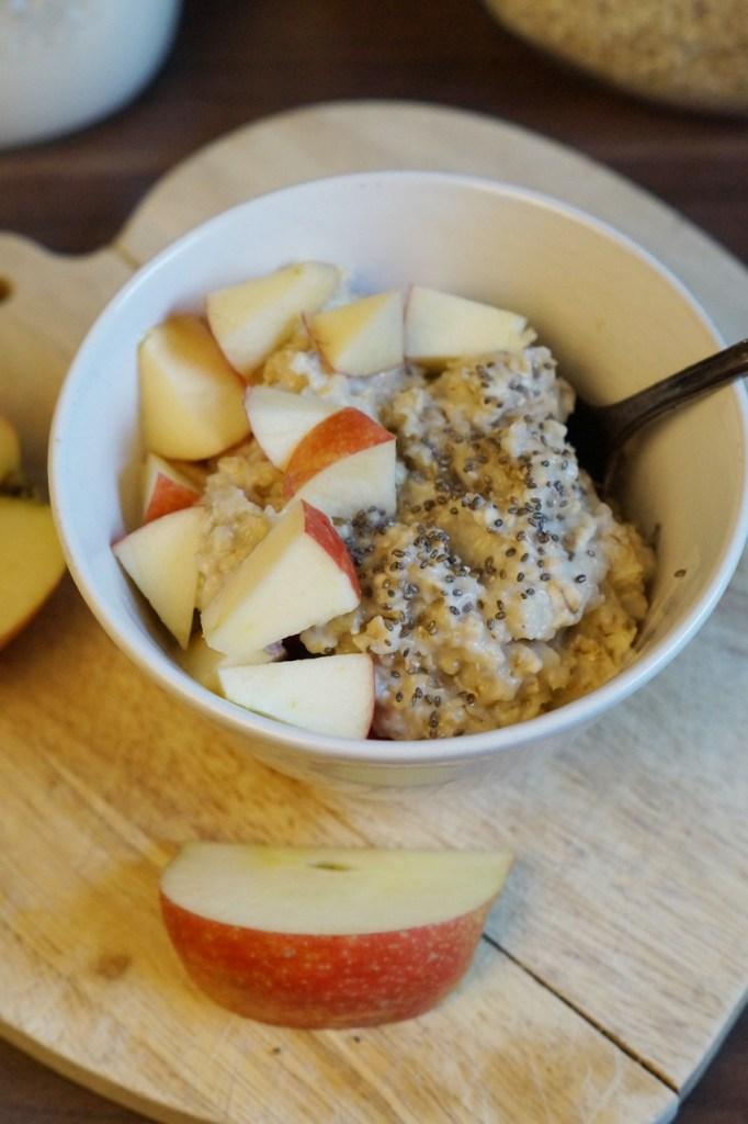 Porridge wärmt den Bauch