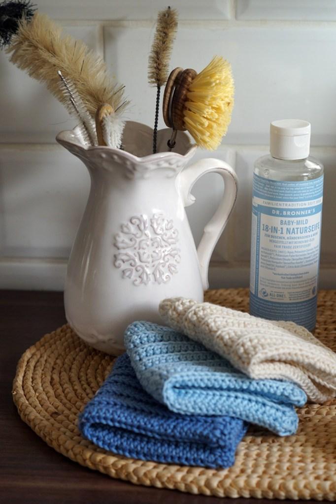 nachhaltig putzen und waschen