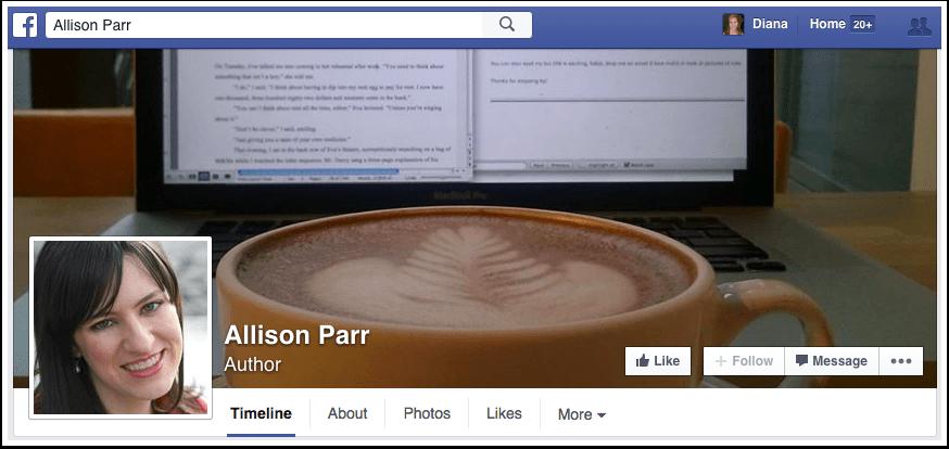 Allison Parr Facebook Page