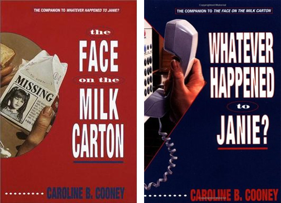 The Face on the Milk Carton series