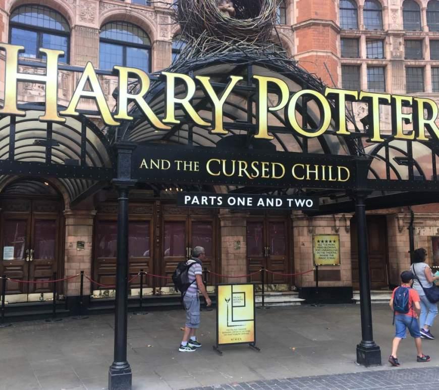 Peça Harry Potter em Londres