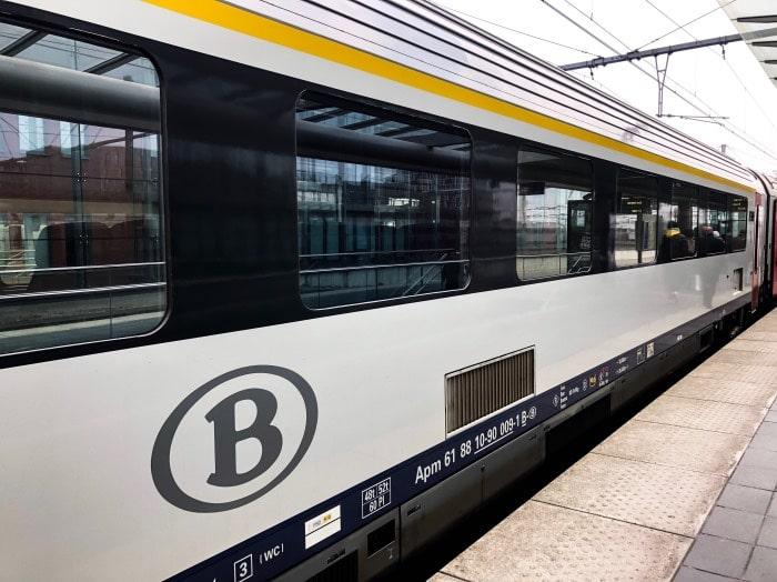 Trem Bruxelas Bruges