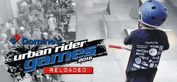 Dominos Urban Rider Games Picture