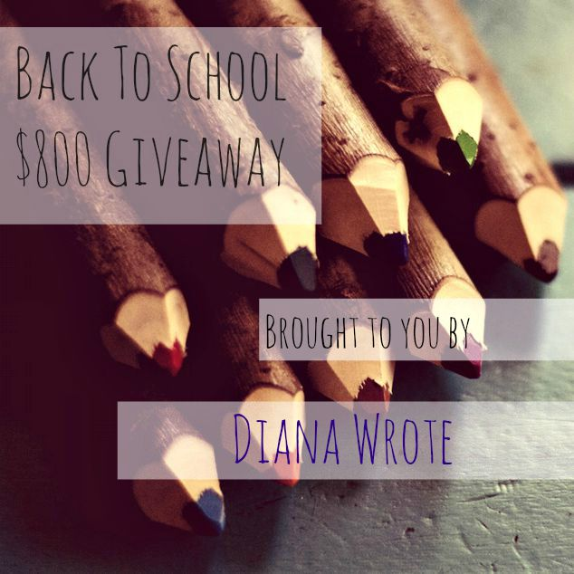 A Back to School {$800} Giveaway!