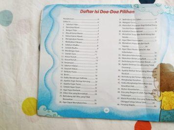 Daftar Isi Doa-Doa Pilihan