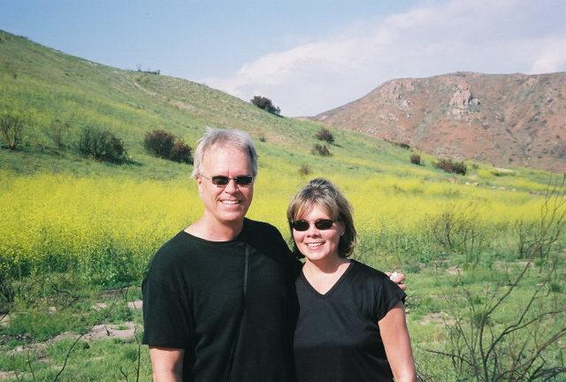 Craig and Karen in Mission Trails Reg. Park