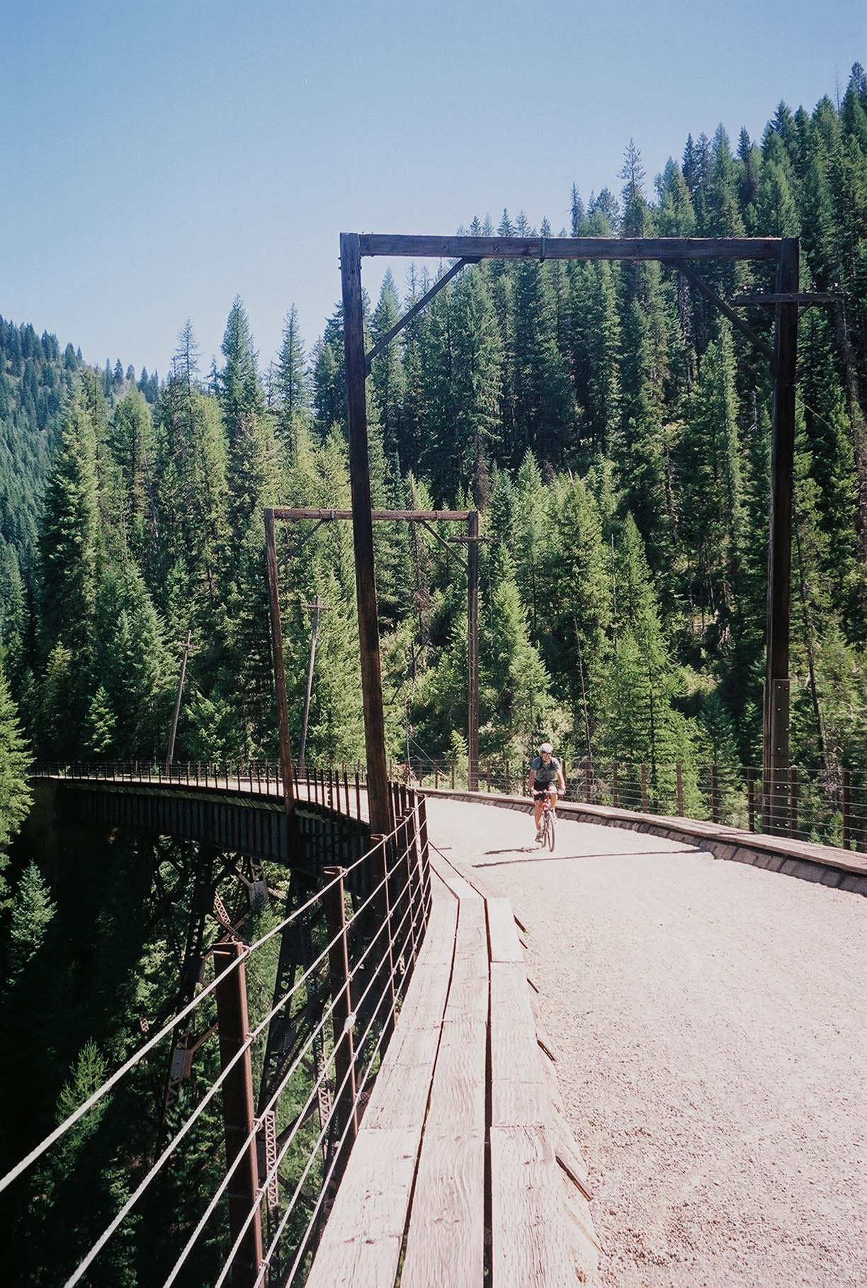Crossing a Trestle